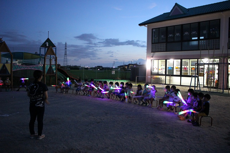 8月28日(金)年長プチキャンプ